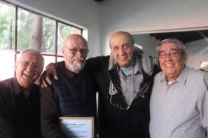 Pedro Moreno, JLA, Julio Vega y Humberto Espejel